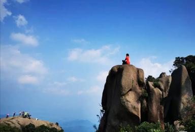 勇登增城最高峰—牛牯嶂,行走广州顶级山脊徒步路线(1日行程)