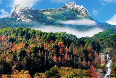 """走进""""广东香格里拉"""",新丰云髻山,赏枫叶,感受大自然的气息(1日行程)"""