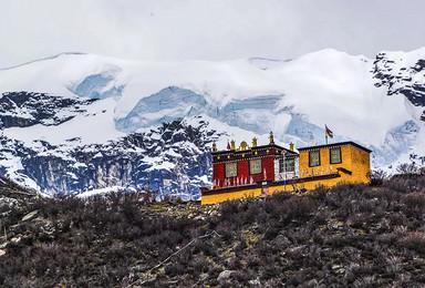 [萨普转山]西藏萨普神山+圣湖+冰川轻装徒步7日·精品小团(7日行程)