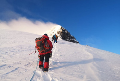自由之巅 日果冷觉5523米雪山攀登(7日行程)