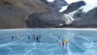[元旦西藏]绝美双蓝冰+双冰川盛宴,含机票(6日行程)