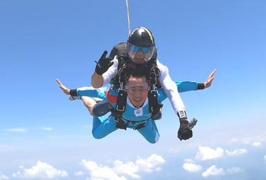 湖北荆门漳河高空跳伞[3000米+45秒自由落体](1日行程)