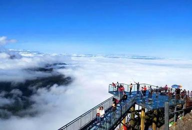 [冰雪金子山]金子山天梯+广东最恐怖玻璃天桥 ?(1日行程)