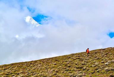 行走喜马拉雅 中国十大经典徒步线路之西藏珠峰东坡嘎玛沟徒步(13日行程)