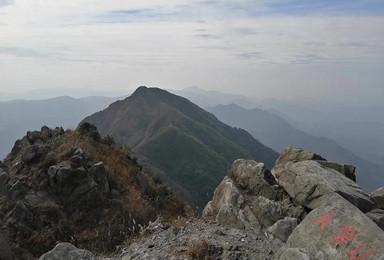 (小团出行,每周三、六、日出发)登清城第一峰-大罗山(1日行程)