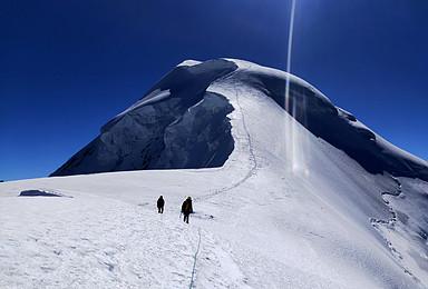 星空户外探险2021年6112米勒多曼因攀登计划(10日行程)