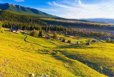 北疆环线+喀纳斯徒步 可可托海 贾登峪 禾木 可定制(9日行程)