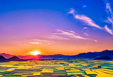 元阳梯田.普者黑.碧色寨.罗平油菜花.九龙瀑布深度摄影之旅(8日行程)