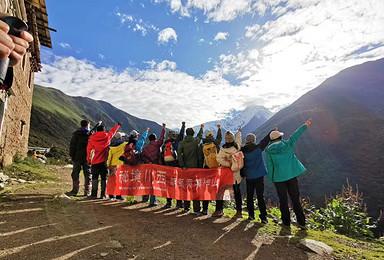贡嘎全线-康定老榆林-日乌且-贡嘎寺-草科经典100公里徒步(8日行程)