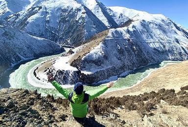 萨普转山-西藏萨普神山+圣湖+冰川+圣象天门轻装徒步(7日行程)