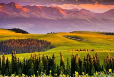 新疆伊犁赛里木湖喀拉峻阔克苏大峡谷巴音布鲁克夏特薰衣草吐鲁番(10日行程)