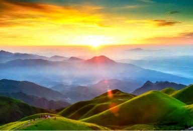 五一 武功山穿越 龙山村 发云界 绝望坡 吊马桩 金顶 穿越(3日行程)