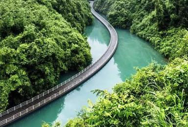 [地道恩施]鹿院坪+清江古河床+屏山峡谷+狮子关+伍家台茶园(5日行程)