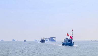 天津出海打渔 包船出海 体验一次渔民生活品新鲜海鲜滨海图书馆(1日行程)