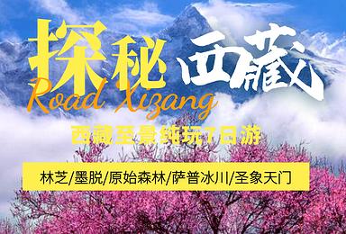 2021年 林芝+墨脱+穿越原始森林+萨普冰川+圣象天门(7日行程)