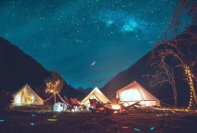 木尔寨沟户外野奢露营glamping 巴郎山观云海(2日行程)
