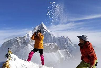 雪山攀登 四姑娘山二峰攀登 挑战人生中的第一个5千米(5日行程)