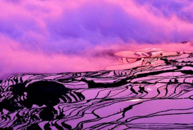 [梦幻滇东南]元阳梯田日落+普者黑仙服拍照+坝美世外桃源(7日行程)