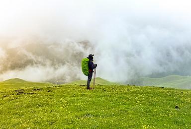 [绿野仙踪] 喀拉峻草原轻装徒步穿越(9日行程)