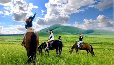 周末-坝上草原-骑马-免费烤全羊-篝火狂欢-越野车深度穿越!(3日行程)