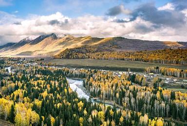 新疆北疆小团 可可托海 禾木 喀纳斯 伊犁 那拉提 赛里木湖(8日行程)