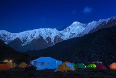 四川那玛峰 贡嘎卫峰 那玛峰 初级技术型雪山攀登首选(7日行程)