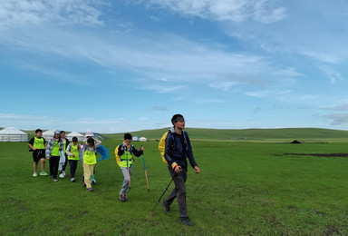 呼伦贝尔徒步旅行 5天4晚徒步穿越呼伦贝尔大草原88公里(5日行程)