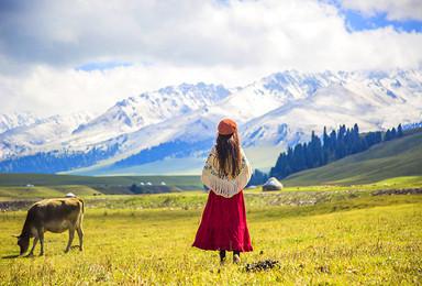新疆伊犁 赛木里湖 那拉提 巴音布鲁克 独库公路小团之旅(5日行程)