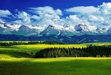 新疆独库公路 五彩滩 喀纳斯 禾木 赛里木湖 喀拉峻 那拉提(12日行程)