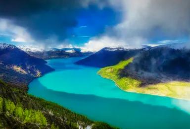 新疆喀纳斯禾木赛里木湖那拉提巴音布鲁克吐鲁番天山天池独库公路(10日行程)