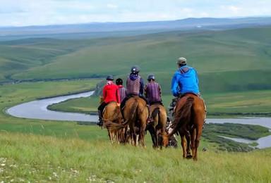 2021野骑的乐趣 呼伦贝尔马背旅行 6天5晚骑马穿越大草原(6日行程)