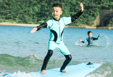 [三亚亲子营]学会冲浪+帆船航海+探索热带物种基因库(6日行程)