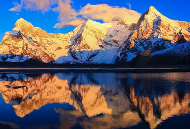 希夏邦马 行走喜马拉雅 希夏邦马峰大 小环线徒步 北坡冰塔林(13日行程)