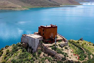西藏羊湖 日托寺 卡若拉冰川 纳木错 无人机航拍 驻地摄影(2日行程)