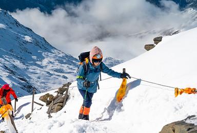 四姑娘山二峰攀登 冲顶协作比例1 2 天天发团(3日行程)
