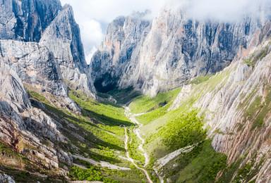 扎尕那徒步 重走洛克之路 甘南秘境 洮叠古道徒步穿越(7日行程)