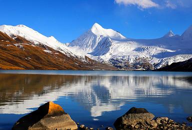 西藏圣象天门 萨普冰川 骷髅墙 帕拉晶塔 巴姆措户外纯玩(4日行程)